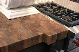 walnut butcher block finished with wax how to finish wood countertops waterproof sealing