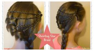 You Tube Hair Style shooting star braid hairstyle tutorial youtube 3325 by wearticles.com