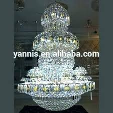 crystal chandelier modern large contemporary hotel lobby banquet hall ballroom size big design for living room chan