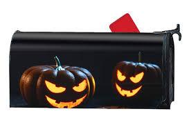 Pumpkin Yard Light Cover Amazon Com Byuii Pumpkins Halloween Light Magnetic Mailbox