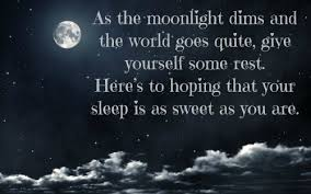 Beautiful Quotes On Good Night Best of 24 Beautiful Goodnight Quotes With Images