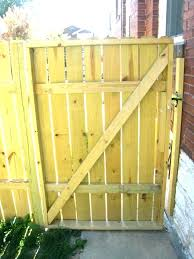 build wooden fence gate building a wooden gate how to build wood fence gate wooden gate