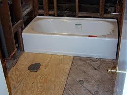 replacing bathroom suloor 00016