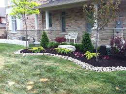 Small Picture Landscape Ideas For Front Of House Low Maintenance Garden Ideas