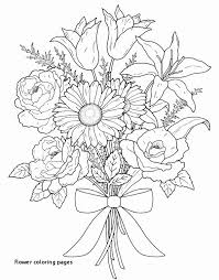 Hawaiian Flower Coloring Page Beautiful Flower Coloring Pages Vases