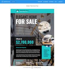 business open house flyer template real estate flyer templates by venngage