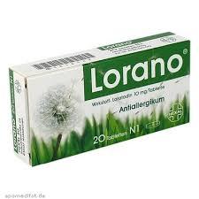 Lorano nebenwirkungen gewichtszunahme