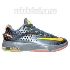 nike basketball shoes 2016 kd. for sale designer men\u0027s nike kd 7 elite basketball shoes bluegraphite/volt/brightcitrus last 2016 kd