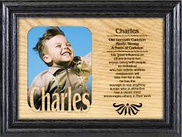 name picture frame one name w one picture personality profiles personalized frame