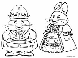 max and ruby coloring pages