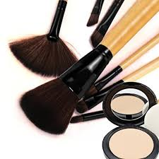 india mac 32pcs professional makeup brushes set synthetic cosmetic foundation blending blush eyeliner face powder mac