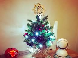 1Mini Christmas trees