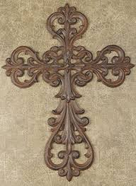 iron wall cross love: cast iron wall cross metal wall decor metal wall art iron tin and wrought iron wall decor which includes metal wall word signsmodern and contemporary