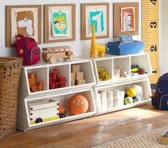 Kids Room Design: Funky White Storage Units In Childs Room With Featured  Art Projects -