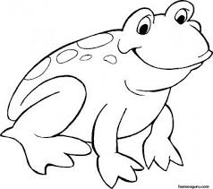 Frog on front 17 on the back with their names written in. Free Printable Smiling Frog Coloring Page 286675020 Jpg 381 338 Pixels Frog Coloring Pages Animal Coloring Pages Princess Coloring Pages