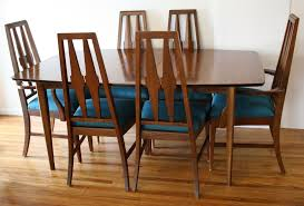 mid century modern broyhill brasilia dining table and dining