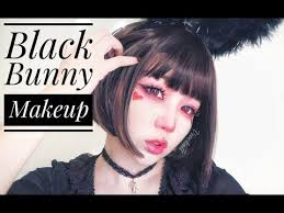black bunny makeup tutorial vivekatt