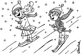 Coloriage De Ski Alpin Descente L Duilawyerlosangeles