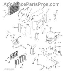 ge wr55x10560 board asm main contro appliancepartspros com part diagram