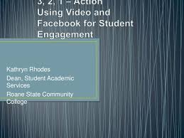 Using video and facebook for student february 2012 handout
