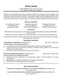 Black and White Entry-Level Resume Template
