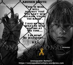 """Quotes About Abuse Enchanting Abuser Quote """"This Is War I Will Destroy You"""" Unstoppable Mothers"""