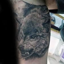 50 Reálných Wolf Tetování Vzory Pro Muže Canine Ink Myšlenky