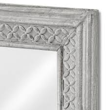 Large Wall Mirrors For Bedroom Large Wall Mirror With Antique Grey Frame 61x51 Bedroom