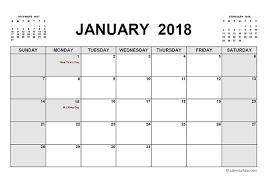 printable calanders 2018 printable calendar pdf free printable templates