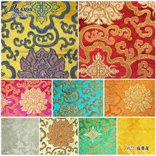 Kaida silk brocade jacquard silk cheongsam beautiful quilt fabrics ... & Kaida silk brocade jacquard silk cheongsam beautiful quilt fabrics Waratah  multicolor Costume traditional Chinese fabric Adamdwight.com