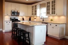 white shaker kitchen cabinets. Luxurious New Shaker Cabinets For Kitchen And Crown Molding With Off White