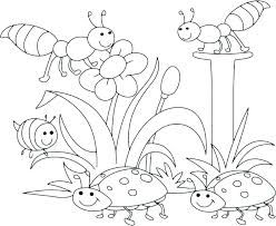 Free Preschool Coloring Pages Packed With Spring For Preschoolers To