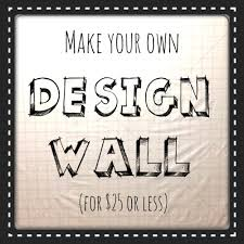 How to make your own Design Wall! - The Sassy Quilter &  Adamdwight.com