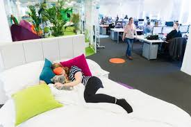 Company Installs Double Bed In The Office For Sleepy Employees To Have Nap  Work Time  Mirror Online Daily