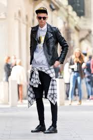 are the new it trend for men these days if you re a college going boy in need of a back to school here s some inspiration for you a leather jacket