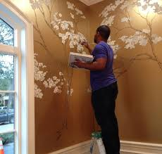 how to use gold metallic paint