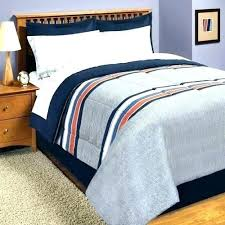 rugby stripe bedding pink gray bed in a bag and orange comforter set blue twin