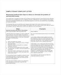 Letter Of Complaint Sample Complete Brilliant Ideas Plaint Template