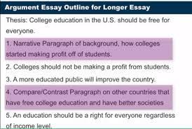 advanced writing advanced argument essays part  举个例子(任性的用中文写) 假如论题是米国大学教育应该免费就可以加一段介绍背景再写原因再可以加一段对比其他国家的再写原因