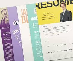 Creative Resume Templates Free Download  eye catching resume     Resume and Resume Templates Free Minimalistic Clean Resume