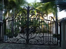 Decorative Metal Gates Design Simple Automatic Driveway Gates Slide And Swing Gate Openers