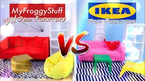Ikea doll furniture Modern versus beanbagchair dollfurniture Youtube Versus Ikea Doll Furniture Vs Diy Doll Furniture Couch Chair