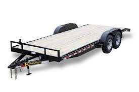 deluxe 12000 gvwr flatbed utility trailer by kaufman trailers 7 Prong Trailer Wiring Diagram at Trailer Wiring Harness Kaufman
