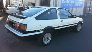 TOYOTA COROLLA TWIN CAM COUPE AE86 ONE FOR SALE JAPAN - CAR ON ...