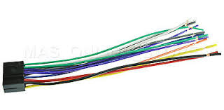 jvc kd r aftermarket stereo radio receiver replacement wire wire harness for jvc kd r640 kdr640 pay today ships today