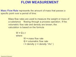8 flow measurement
