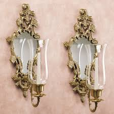 wall sconces candleholders and candelabras touch of chandelier decal sconce candle holder wallpaper patterns