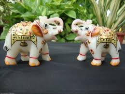 Small Picture Handicraft Sculpture Marble stone elephant handicraft art