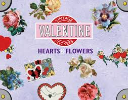 Pictures Of Hearts And Flowers Hearts And Flowers Sticker Box Holiday Stickers