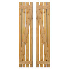 Board And Batten Dimensions Ekena Millwork 15 In X 60 In Exterior Composite Wood Board And
